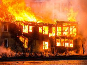 Building on Fire image