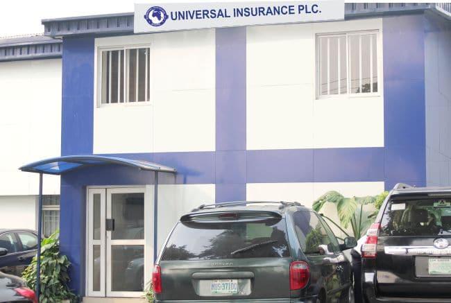 Universal Insurance Plc. building