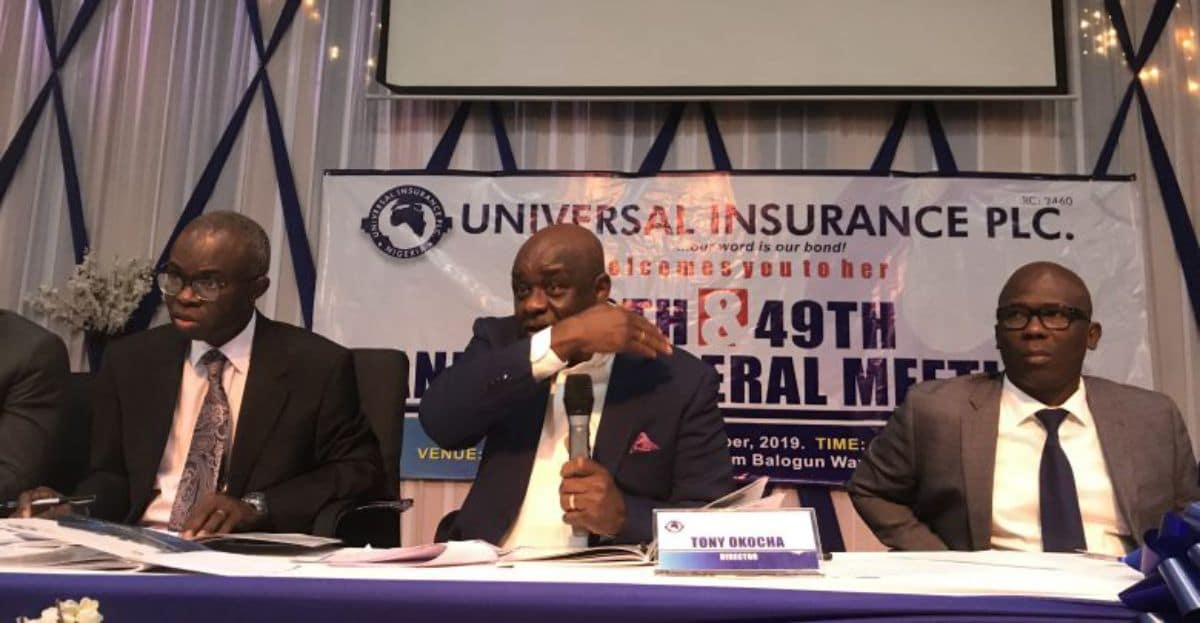 Universal Insurance Plc Board Member at a Conference